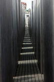 Jewish Holocaust Memorial, berlin germany Royalty Free Stock Photos