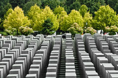 Jewish Holocaust Memorial, berlin germany Royalty Free Stock Photography