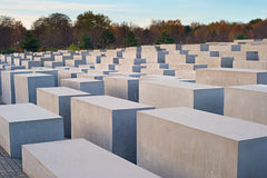 Jewish Holocaust Memorial, Berlin Royalty Free Stock Photos