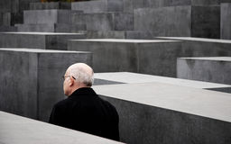 Jewish holocaust memorial Stock Image