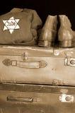 Jewish holocaust symbol. Still life Stock Image