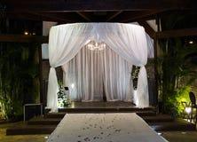 Jewish Hupa , wedding putdoor . Royalty Free Stock Photos