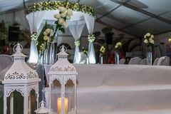 Jewish Hupa , wedding putdoor . Beautiful photo of the Jewish Hupa , wedding putdoor Stock Image