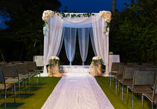 Jewish Hupa , wedding putdoor . Beautiful photo of the Jewish Hupa , wedding putdoor Stock Images
