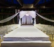 Jewish Hupa , wedding putdoor . Stock Images