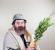 Jewish Male With Relgious Items Royalty Free Stock Images