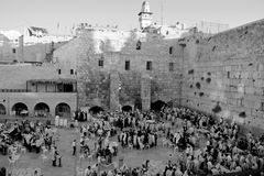 Jewish man celebrate Simchat Torah Stock Image