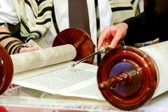 Jewish man dressed in ritual clothing Royalty Free Stock Photo