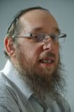 Jewish man portrait Stock Images