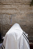 Praying in a Shawl Royalty Free Stock Image