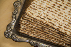 Jewish Matza-CloseUp Royalty Free Stock Photography