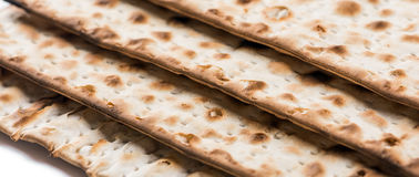 Jewish matza on Passover Royalty Free Stock Photos