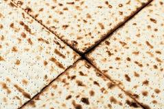 Jewish matza on Passover Stock Photos