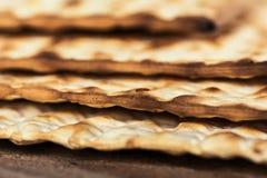 Jewish matza on Passover Royalty Free Stock Image
