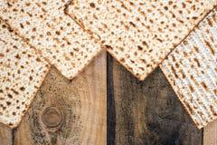 Jewish matza on Passover Royalty Free Stock Photo