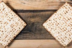 Jewish matza on Passover Royalty Free Stock Photography