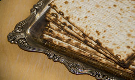 Jewish matzoh Royalty Free Stock Images