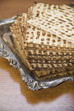Jewish matzot-CloseUp Royalty Free Stock Photo