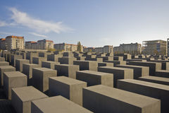 Jewish memorial. In the center of Berlin, Germany Royalty Free Stock Photography