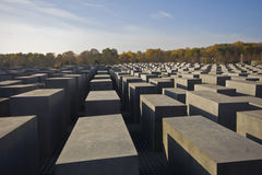 Jewish memorial. In the center of Berlin, Germany Royalty Free Stock Photo
