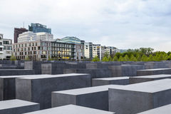 The jewish memorial in central royalty free stock photo