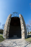 Jewish Memorial from Dachau concentration camp Stock Images