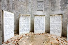 Jewish memorial Royalty Free Stock Images
