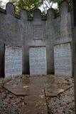 Jewish memorial Stock Photo