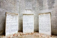Jewish memorial Royalty Free Stock Image