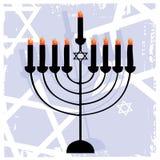 The Jewish Menorah stock photo