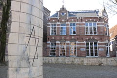 Jewish monument in Leeuwarden, Netherlands Stock Photos