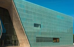 Museum of the History of Polish Jews, Warsaw, Poland Stock Images