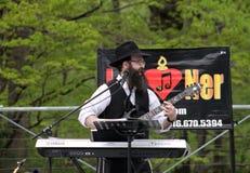 Jewish musician Royalty Free Stock Image