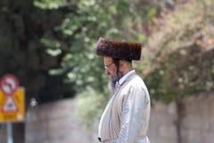 Jewish orthodox man Royalty Free Stock Photos