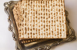 Jewish Passover matza Royalty Free Stock Image