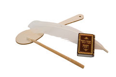 Jewish passover set Royalty Free Stock Photo