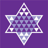 Jewish pattern star Stock Photography