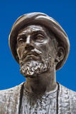 Jewish philosopher. Sculpture of Maimonides, Jewish philosopher stock image