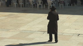 Jewish prayer stock video