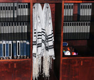 Jewish Prayer Shawls Royalty Free Stock Photos