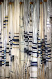 Jewish Prayer Shawls or Tallit Royalty Free Stock Images