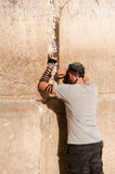 Jewish Prayer at Western Wall Royalty Free Stock Images