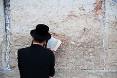 Jewish Prayer at Western Wall Royalty Free Stock Photography