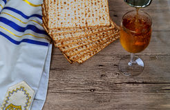 Jewish products food, Jewish Holiday symbol Matzoh for jewish holiday. Passover pesah royalty free stock images