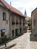 Jewish Quarter. The Jewish Quarter in Trebic Royalty Free Stock Images