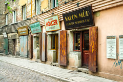 Jewish quarter. In the day. Cracow. Poland Royalty Free Stock Photography
