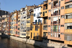 Jewish quarter in Girona. Catalonia. Spain Stock Photo