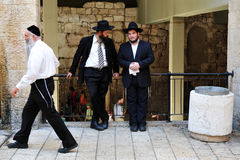 The Jewish Quarter in Jerusalem Israel Royalty Free Stock Photo