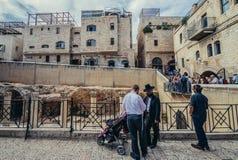 Jewish Quarter in Jerusalem Royalty Free Stock Images