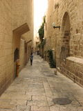 Jewish quarter in Jerusalem Old city. Israel. Royalty Free Stock Images